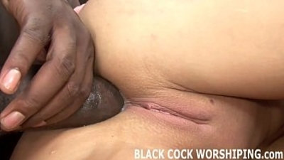 My tight white pussy is ready for his big black cock