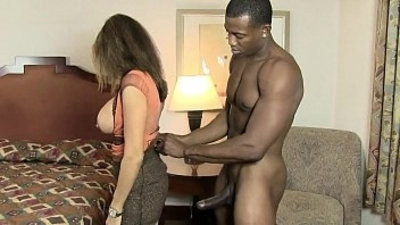 HotWifeRio sexy ebony slut wife pounded by bbc in hotel