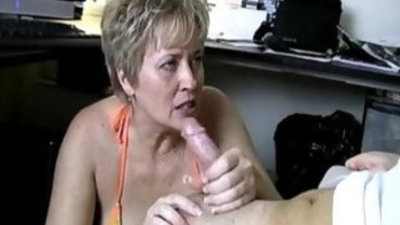 Naughty blonde milf with a dirty and cockhungry mouth