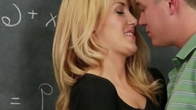 Hot Classmate Drilled by Large Dick