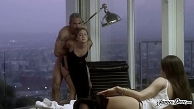 TROPHY WIFE REMY LACROIX ANALLY PUNISHED IN FRONT OF HER HUSBANDS SECRETARY Featuring Remy Lacroix Steven St. Croix
