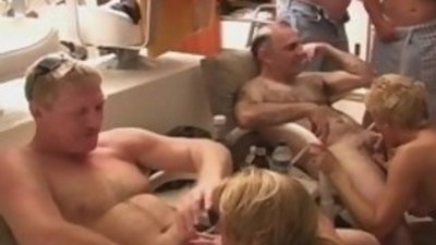 Whoring Slut Housewives on a YACHT