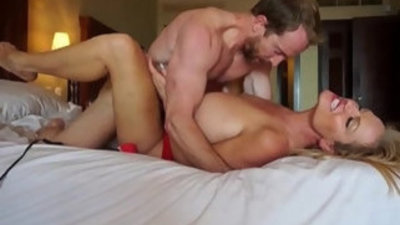 Kelly madisons big tits bounce while she rides a big cock