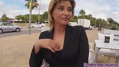 Anna do anal fucking for some seduced with money