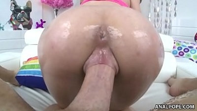 Fresh young pussy filled with big dick Lily Jordan