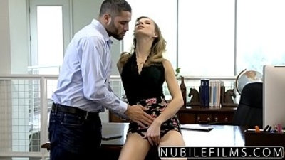 NubileFilms Office Slut getting Fucked Till She Squirts