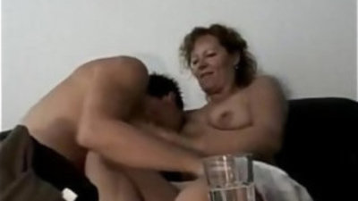 Marine german oma makes love porn with young toyboy